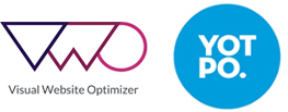 VWO/yotpo.ロゴ